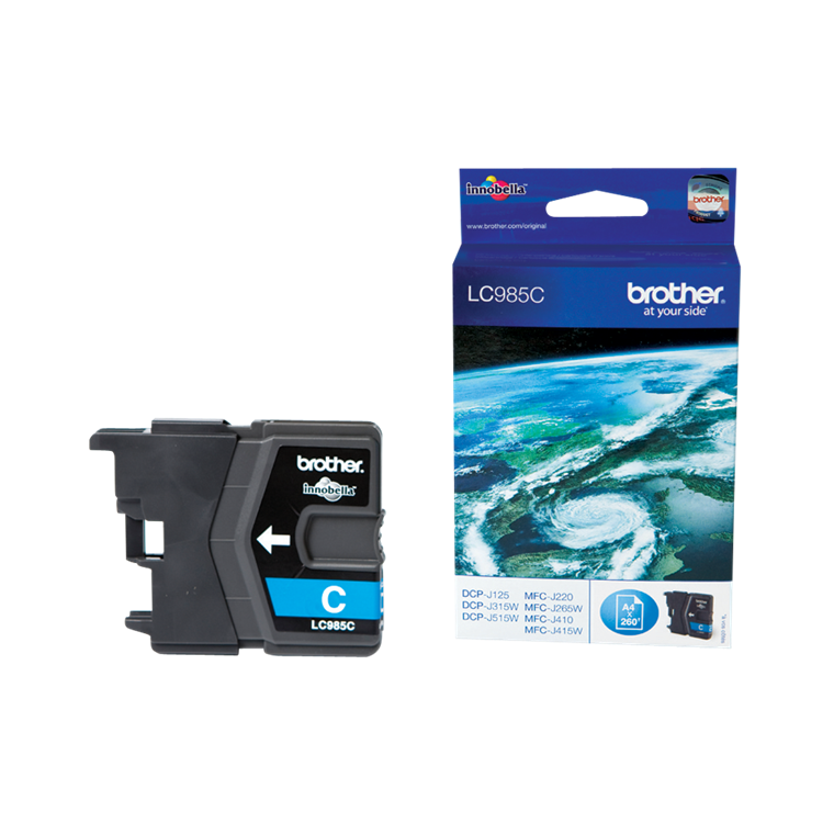 Brother LC985C ink cartridge cyan