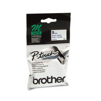 Brother M-K221 tape 9mm black/white