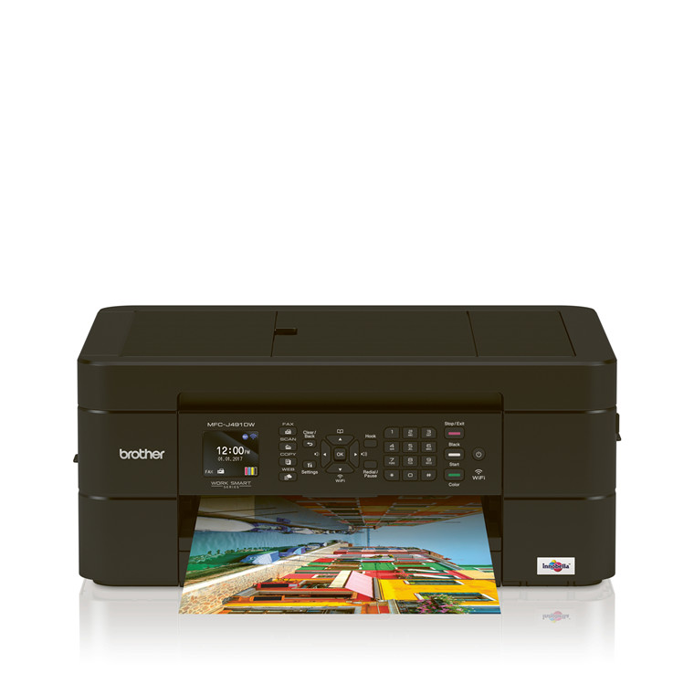Brother MFC-J491DW Compact wireless A4 Inkjet printer