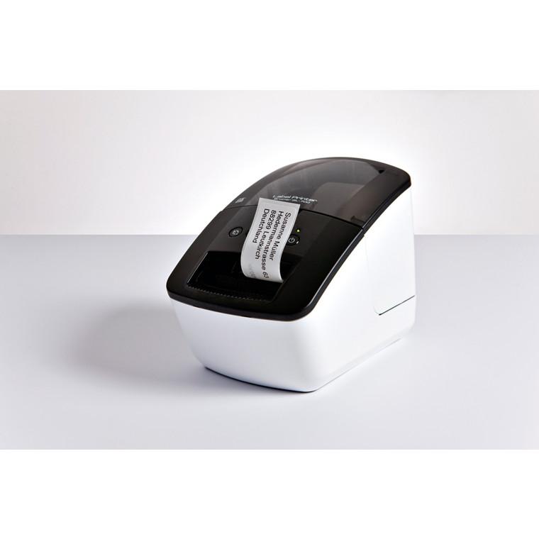 Brother QL-700 -Labelprinter med automatisk kniv