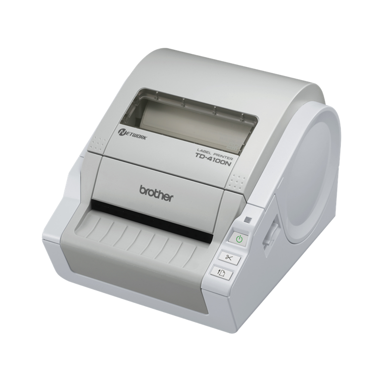 Brother TD-4100N - Netværkslabelprinter i bredformat