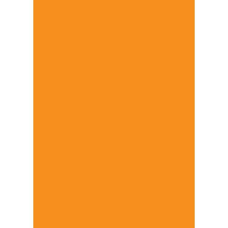 Büngers Farvet Papir A4 80g orange (50)