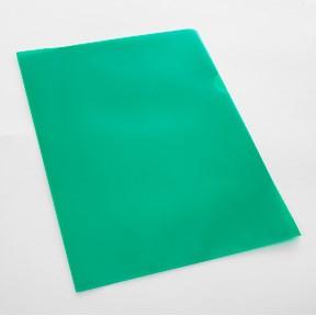 Büngers folder clear textured 115my A4 green (10)