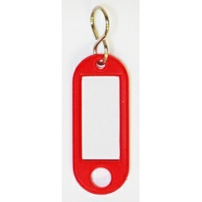 Büngers Key tag red