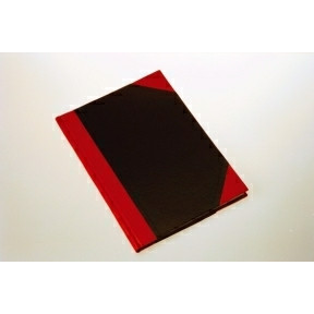 Büngers Notebook hardback black & red A6