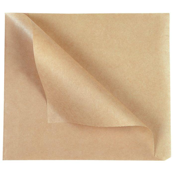 Burgerlomme, brun, papir