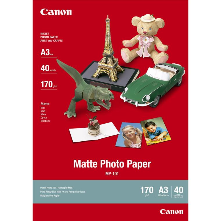 Canon - A3 170 gram MP-101 Mat foto papir - 40 ark
