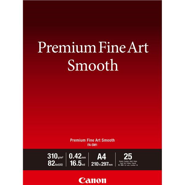 Canon - A3 FA-SM1 FineArt Premium Smooth - 25 ark