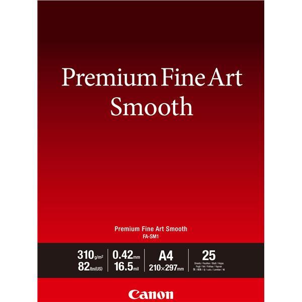 Canon - A3 FA-SM1 FineArt Premium Smooth - 25 ark