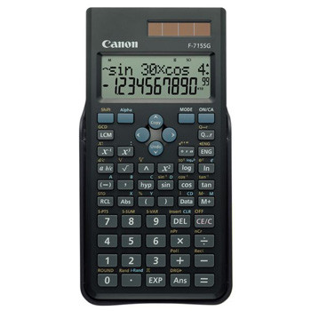 Canon F-715SG scientific calculator black