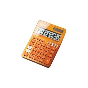 Canon LS-123K-MOR pocket calculator Orange