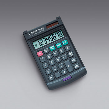 Canon LS-39E pocket calculator