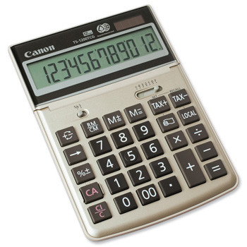 Canon TS-1200TCG desktop calculator Recycled