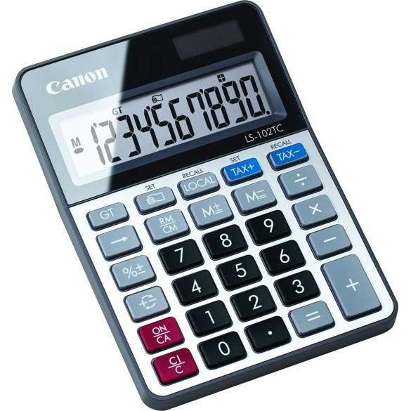 Lommeregner Canon LS-102TC desk calculator - bordregner