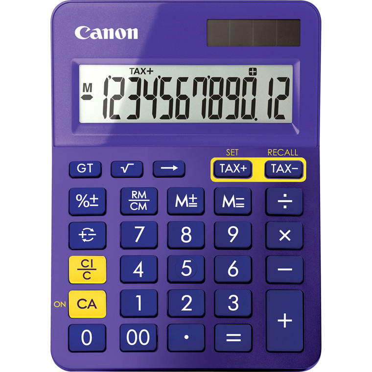 Lommeregner Canon LS-123K MPP pocket calcutalor - purple