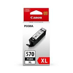 Canon PGI-570XL Pigment black ink tank w/o Sec