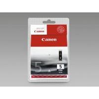 Canon PGI-5BK black ink cartridge, blistered