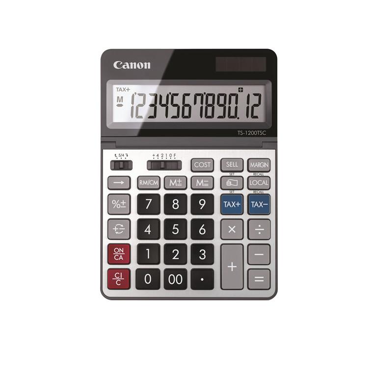 Canon TS-1200TSC desktop calculator