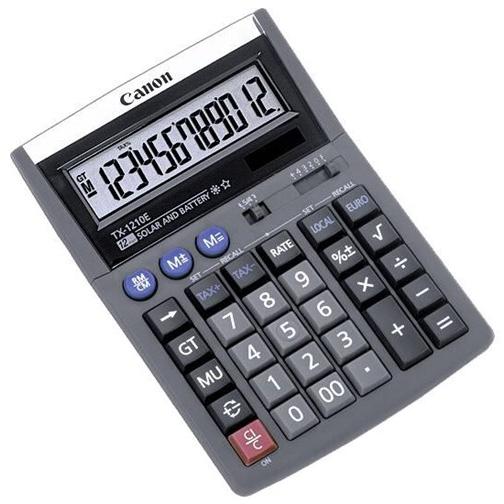 Canon TX-1210E -  12-cifret bordregner