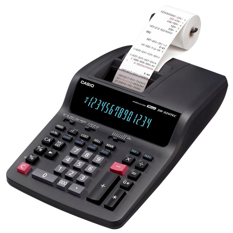 Casio DR-320TEC - Regnemaskine med 14 cifre