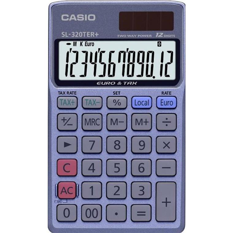 Casio SL-320TER - Lommeregner med 12 cifre