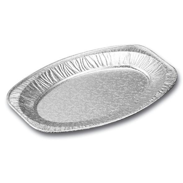 Cateringfad oval mellem 43 x 29 x 2,5 cm - 65180 - 10 stk. i pose