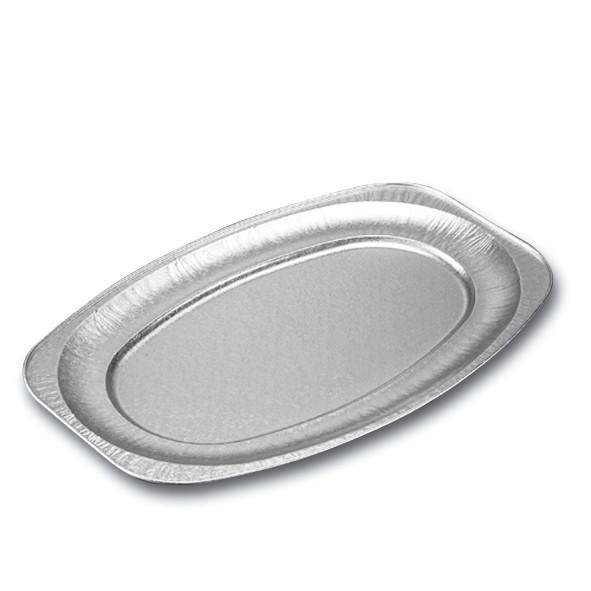 Cateringfad oval stor 55 x 36 x 2,2 cm - 65220 - 10 stk. i pose
