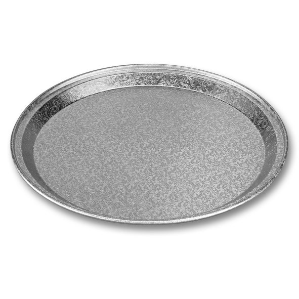 Cateringfad rund præget Ø 31 x 1,8 cm - 6575 - 10 stk. i pose