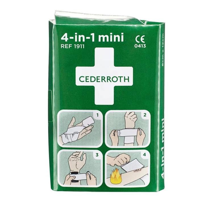 Cederroth 4 i 1 mini Blodstopper