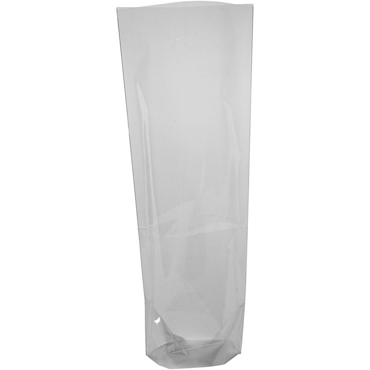 Cellofanpose størrelse 7,5 x 5,5 cm højde 19 cm 25 my - 20 stk.