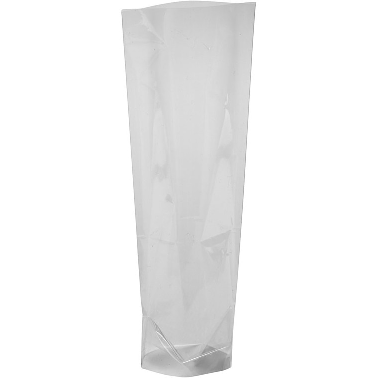 Cellofanpose størrelse 9 x 6,5 cm højde 22,5 cm 25 my - 20 stk.
