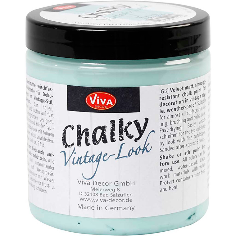 Chalky Vintage Look maling, aqua (703), 250ml