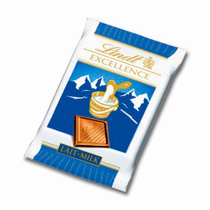 Chokolade lys - 5,5 gram stk. - 200 stk. i en pakke