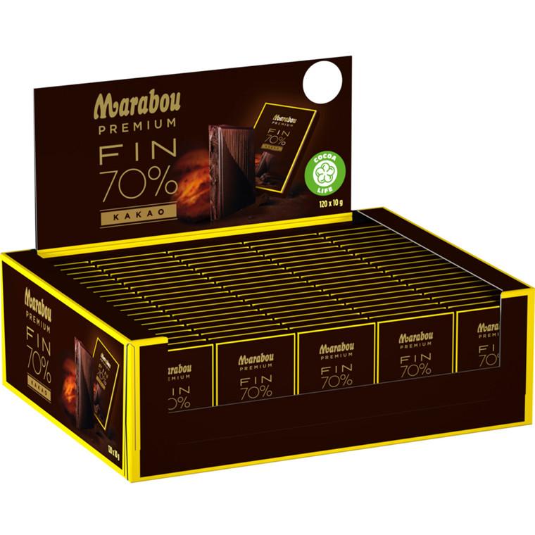 Chokolade, Marabou Premium, Premium, mini, dark, 120 pk
