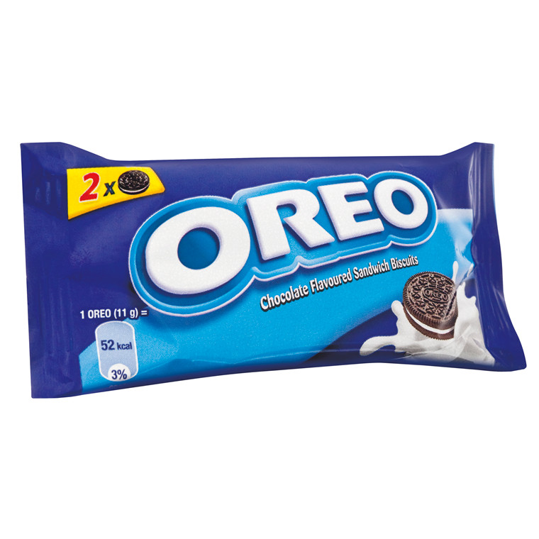 Chokoladekiks Oreo 22 gram - 144 stk. i en pakke