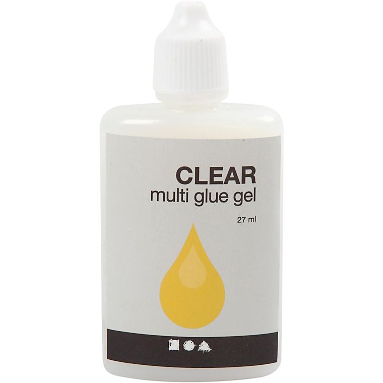 Clear Multi Glue Gel, 27ml