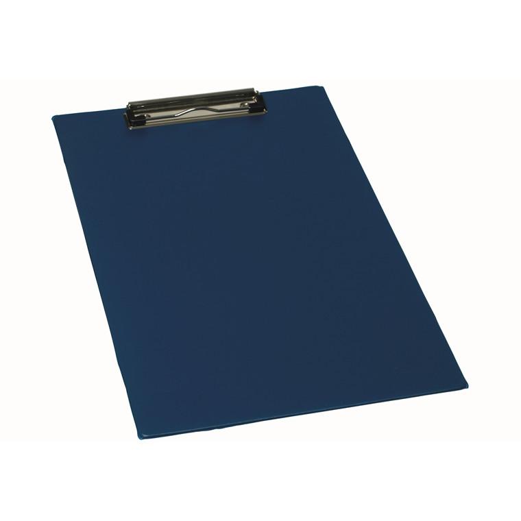 Bantex A4 clipboard med wireclip 23 x 35 cm - Blå
