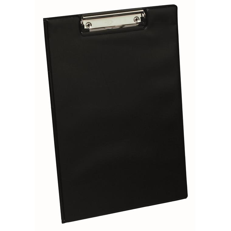 Bantex formular Clipboard A4 sort med forside og inderlomme - 100400427