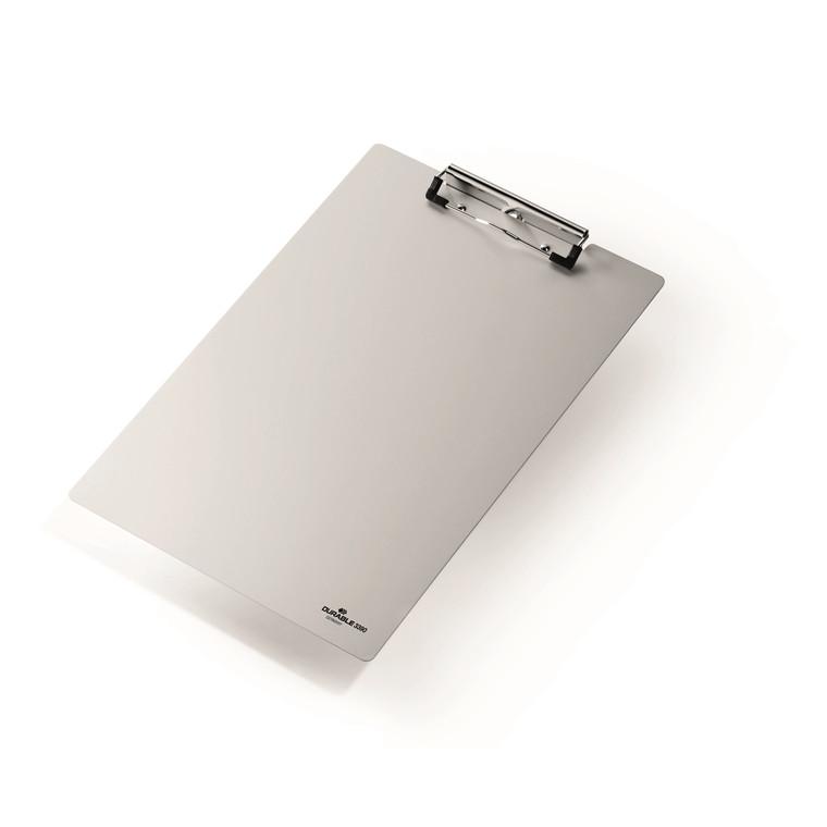 Clipboard Durable A4 lakeret aluminium - Sølv