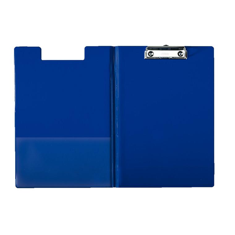 Esselte clip board A4 med forside og inderlomme 56045 - Blå