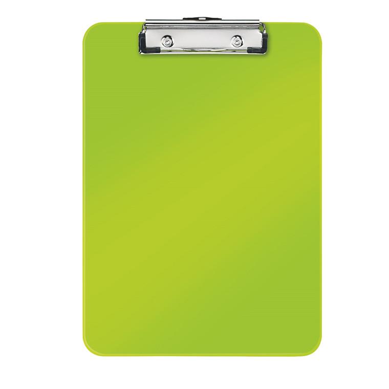 Clipboard A4 Leitz WOW uden forside - Grøn