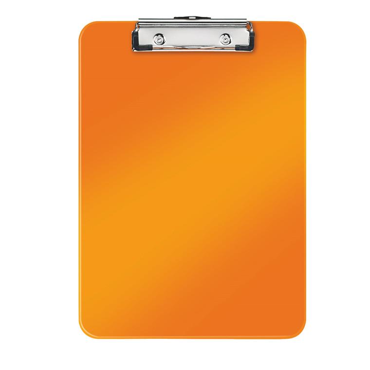 Clipboard A4 Leitz WOW uden forside - Orange