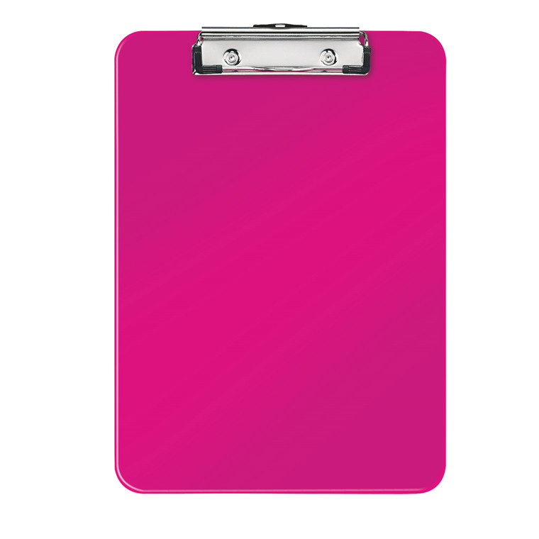 Clipboards A4 Leitz WOW uden forside - Pink