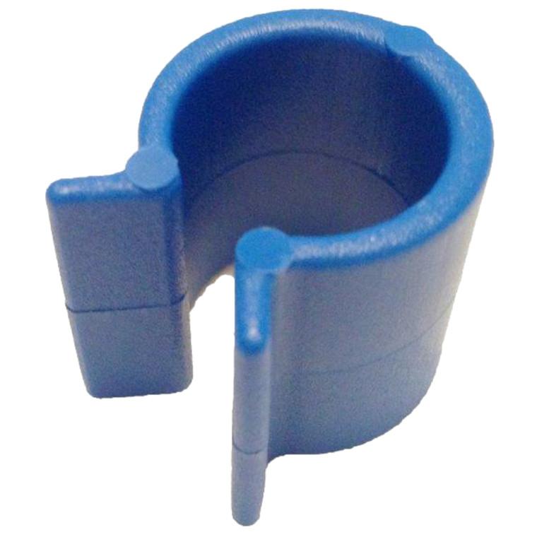 Clipsholder, blå, til affaldsposer,