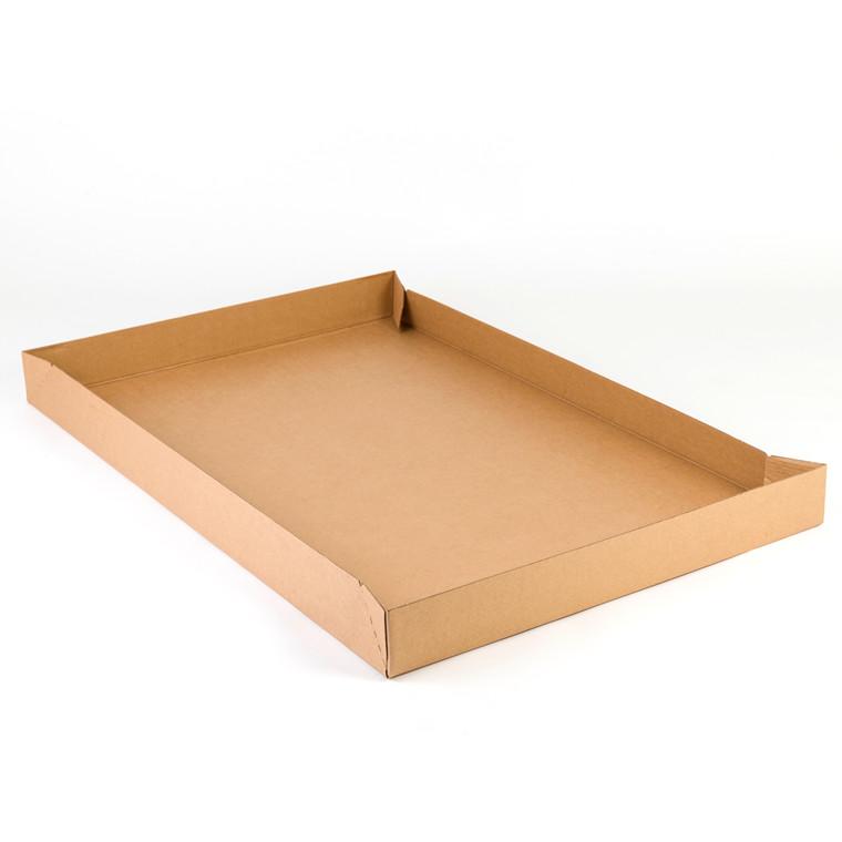 Containerbund eller top 14 1 Bølge - 1200 x 800 x 100 mm - 4-punkt limet