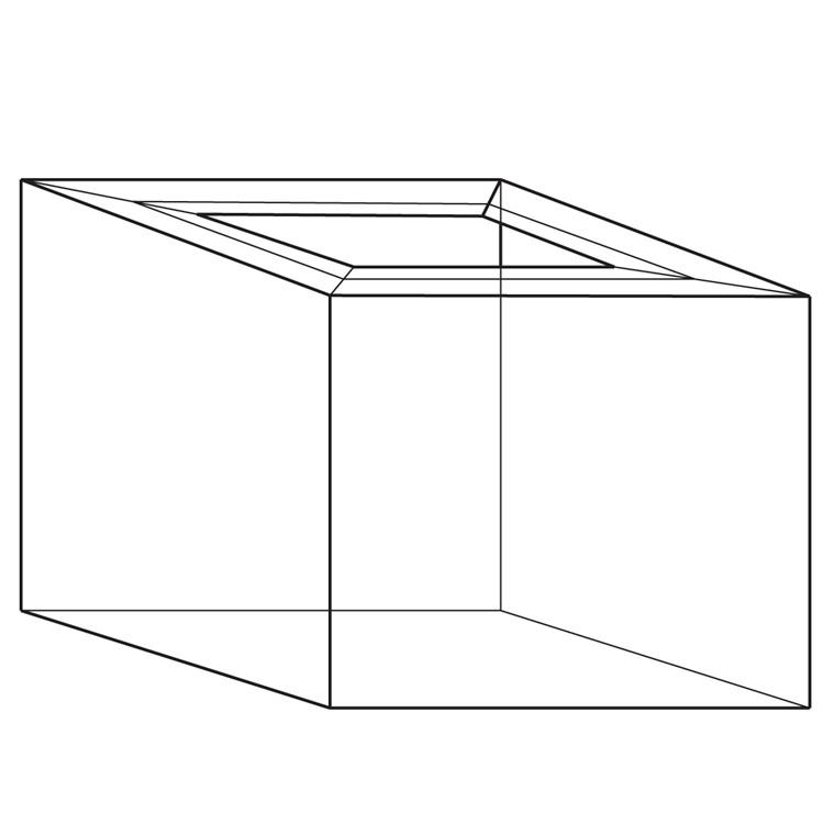 Containersvøb C13 2 Bølger - 1180 x 780 x 700/90/110 mm