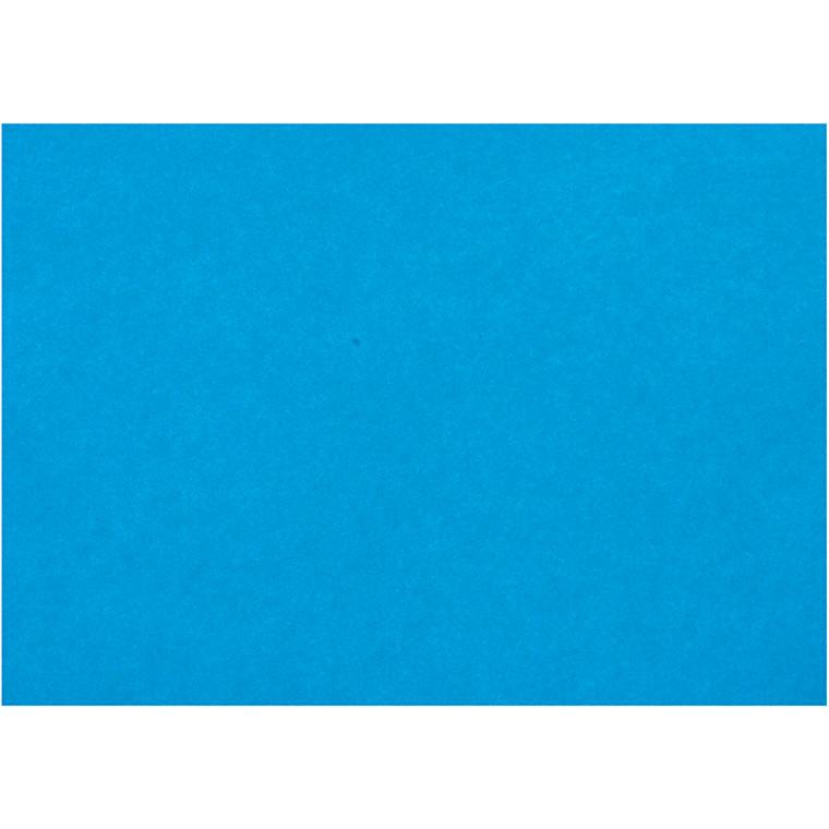 Creativ papir, A4 210x297 mm, 80 g, blå, 20ark