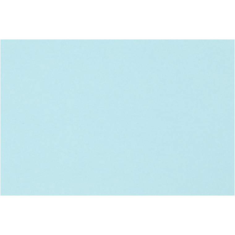 Creativ papir, A4 210x297 mm, 80 g, lys blå, 20ark