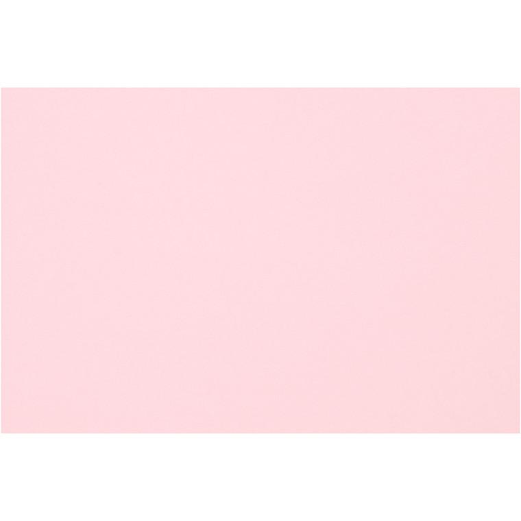 Creativ papir, A4 210x297 mm, 80 g, lys rosa, 20ark