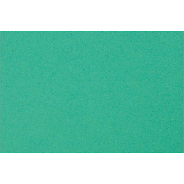 Creativ papir, A4 210x297 mm, 80 g, mørk grøn, 20ark